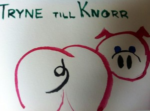 Tryne till knorr
